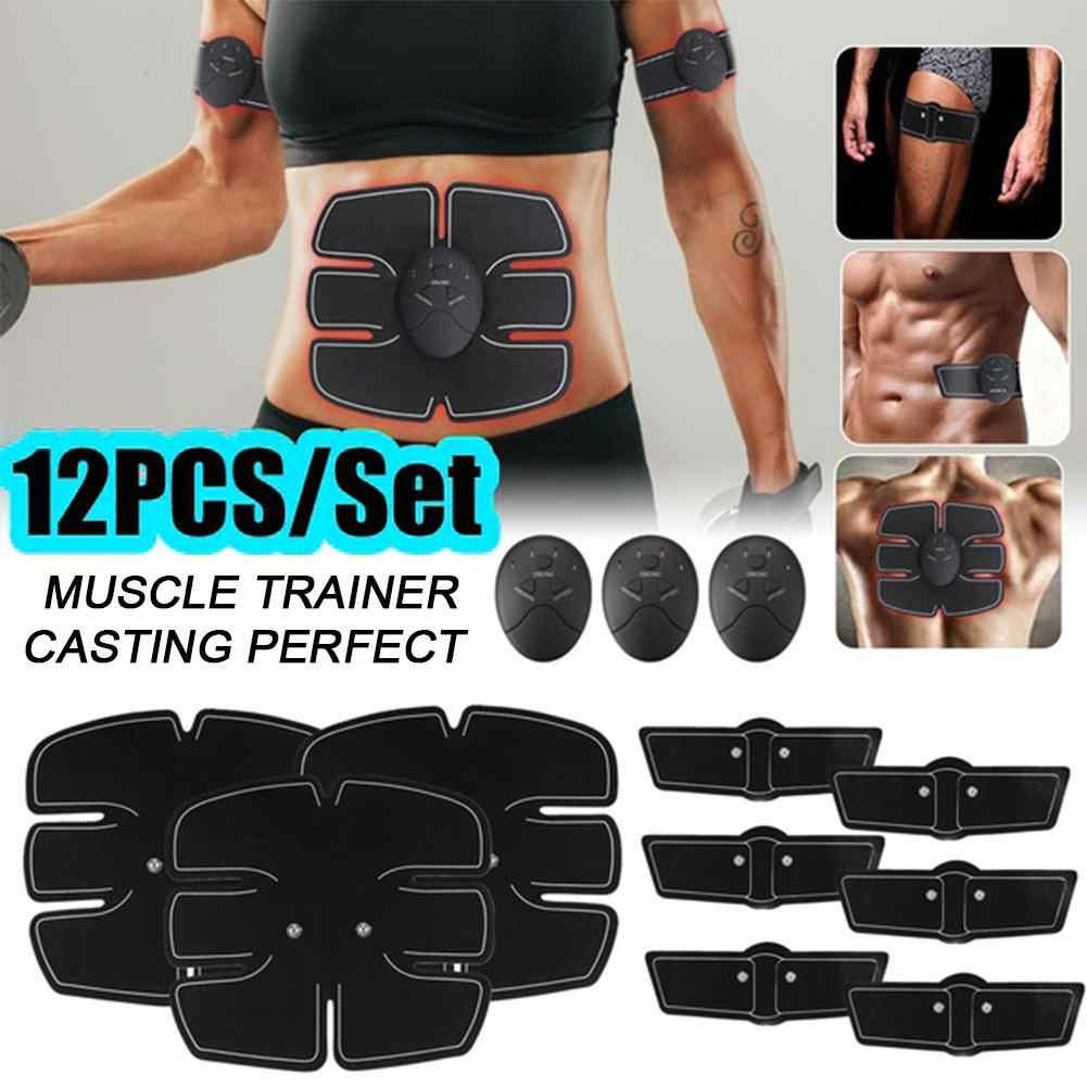 Ultimate EMS AB /& Arms Muscle Simulator ABS Training Home Abdominal Trainer Set