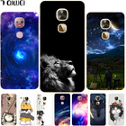 Leeco Le Pro 3 AI Case Silicone Cute Cartoon Cat Back Cases For Letv Leeco Le Pro 3 AI Edition Cover X650 X651 Animal Funda 5.5