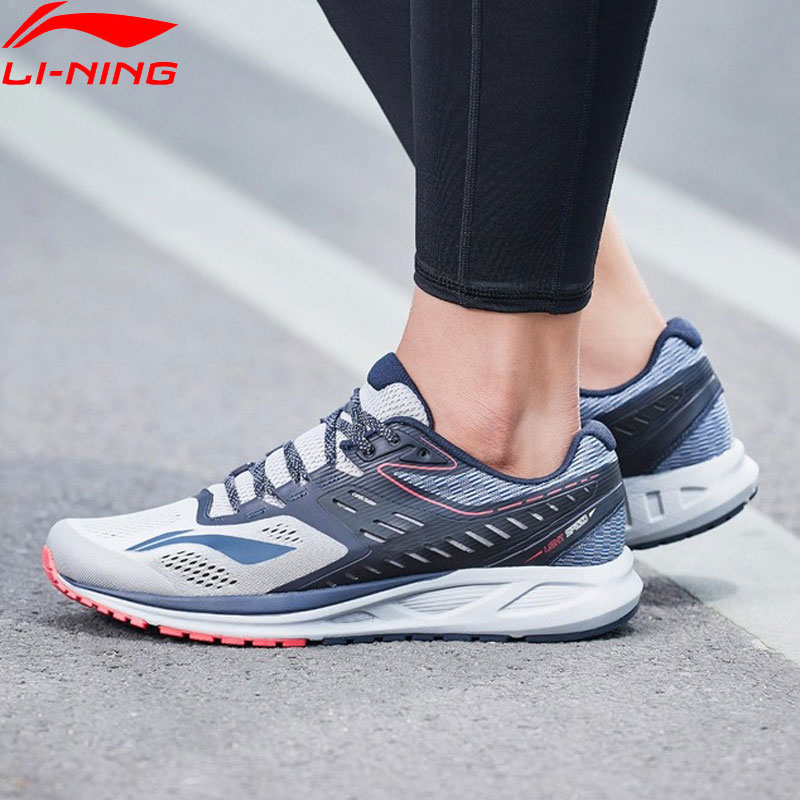 Li-Ning Men FLASH Running Shoes Cushion Wearable LiNing Sport Shoes Breathable Comfort Fitness Sneakers ARHN017 XYP669(China)
