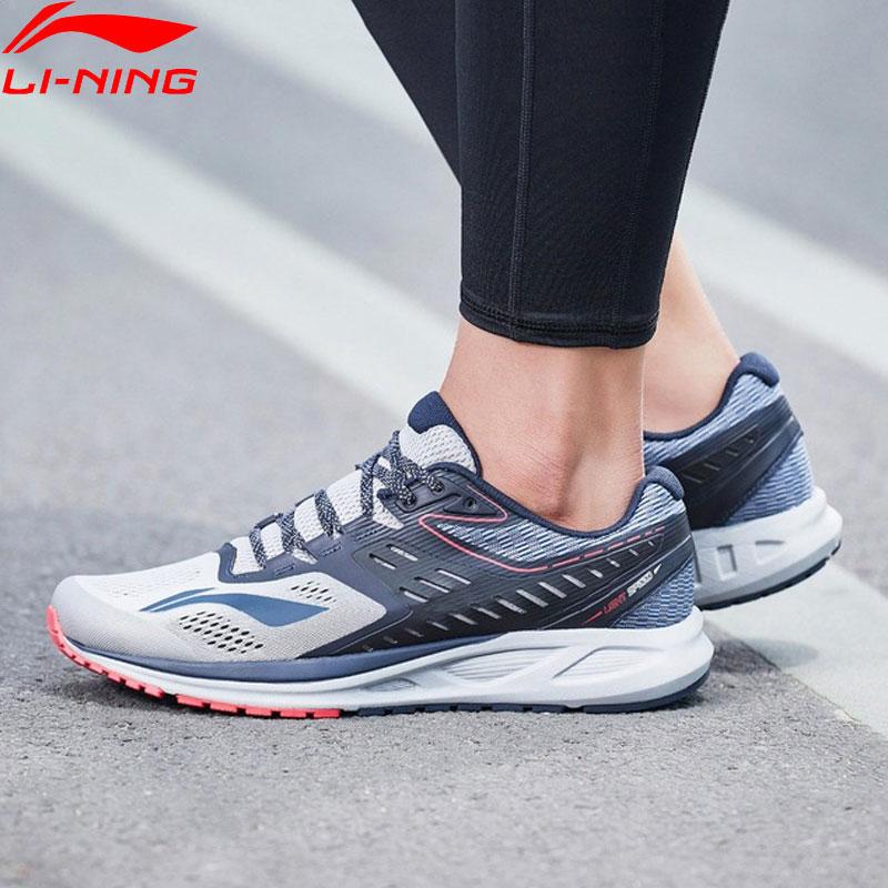 Li-Ning hombres FLASH corriendo zapatos cojín portátil forro Deporte Zapatos transpirables comodidad Fitness zapatillas de deporte ARHN017 XYP669