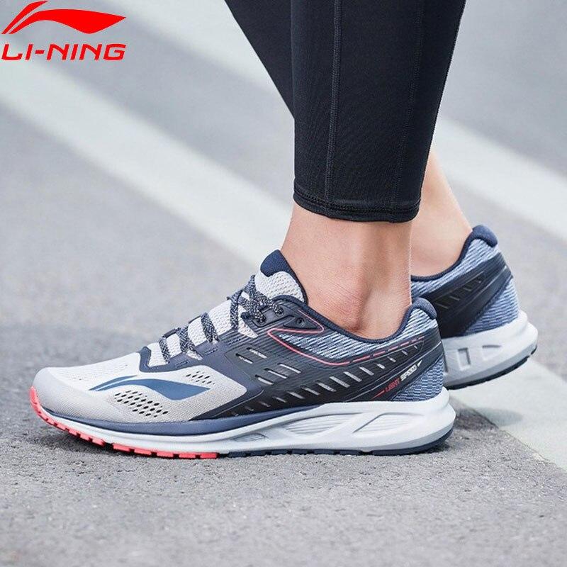 Li-ning hommes FLASH chaussures de course coussin portable doublure chaussures de Sport respirant confort Fitness baskets ARHN017 XYP669