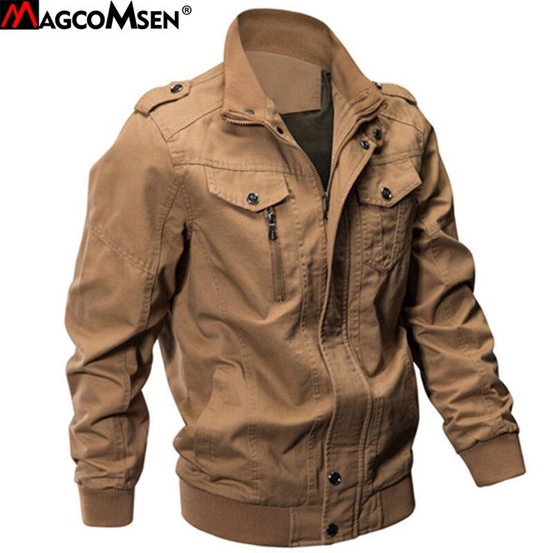 MAGCOMSEN куртка Для мужчин Зимние военные армия Пилот Курточка бомбер тактические человек пальто куртки Jaqueta Masculina плюс Размеры 6XL SSFC-14