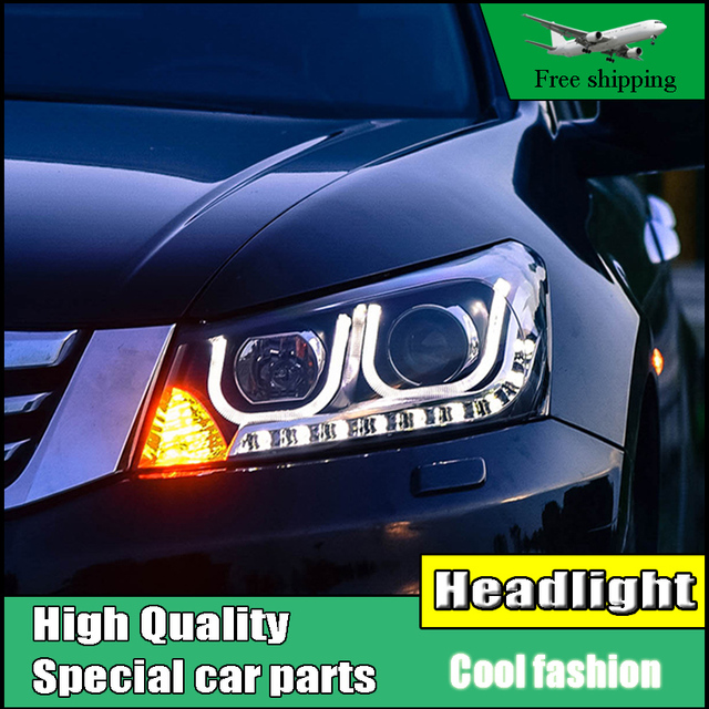 Car Styling Head Lamp For Honda Accord 8th Headlights