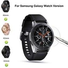 1 шт/4 шт закаленное стекло для samsung Galaxy Watch 42 мм Защитная пленка для экрана для samsung Watch 46 мм ремешок для часов