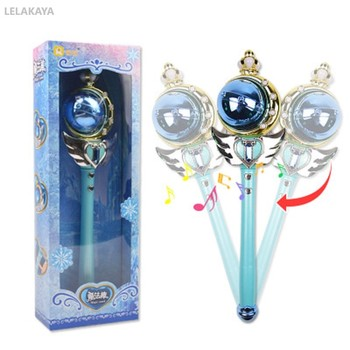 Cosplay Card Captor Sakura Sailor Moon Anime Action Figure Cartoon Magic Stick Flash Fairy Rod Music Wand Puzzle Baby Doll 37cm