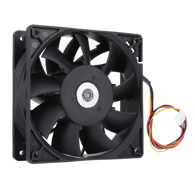 New 4500RPM Cooling Fan Replacement 4-pin Connector For Antminer Bitmain S7 High Quality Computer Cooler Cooling Fan For CPU 4 in 1 multifunction charging dock station cooling fan external cooler dual charger for xbox one controllers s game console