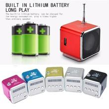 Mini Speaker Portable Digital LCD Sound Micro SD / TF FM Radio Music Stereo Loudspeaker for Laptop Mobile Phone MP3 speaker