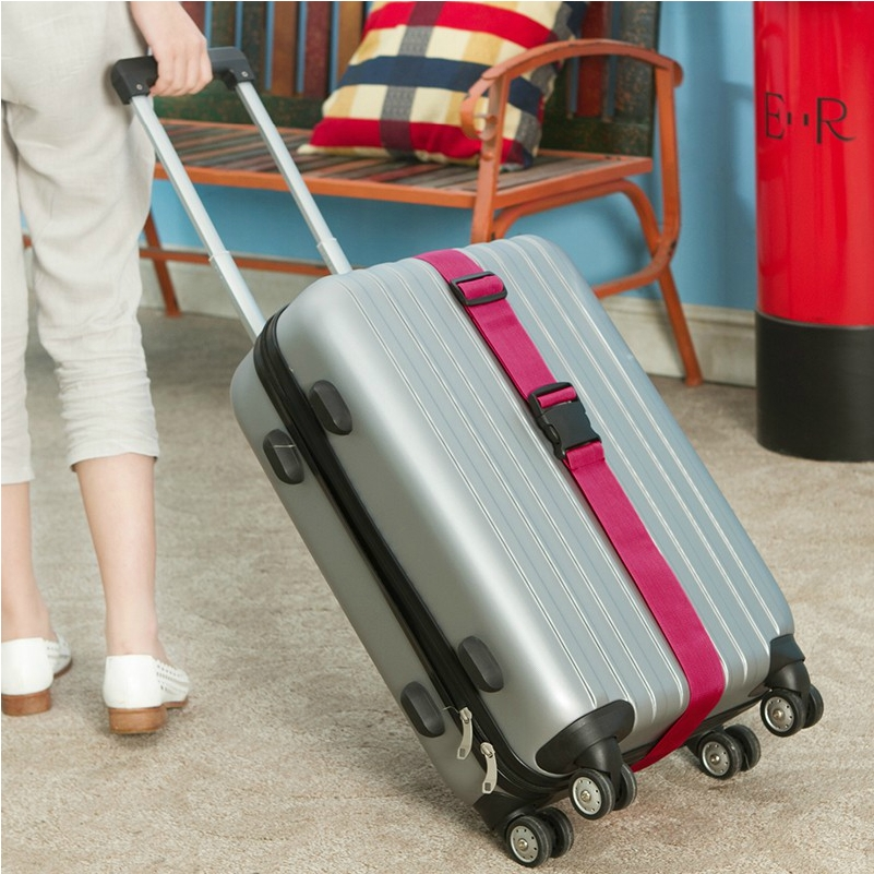 Ourdoor Travel Klasik Praktis Tali Bagasi Adjustable Sabuk Koper - Aksesori perjalanan - Foto 3
