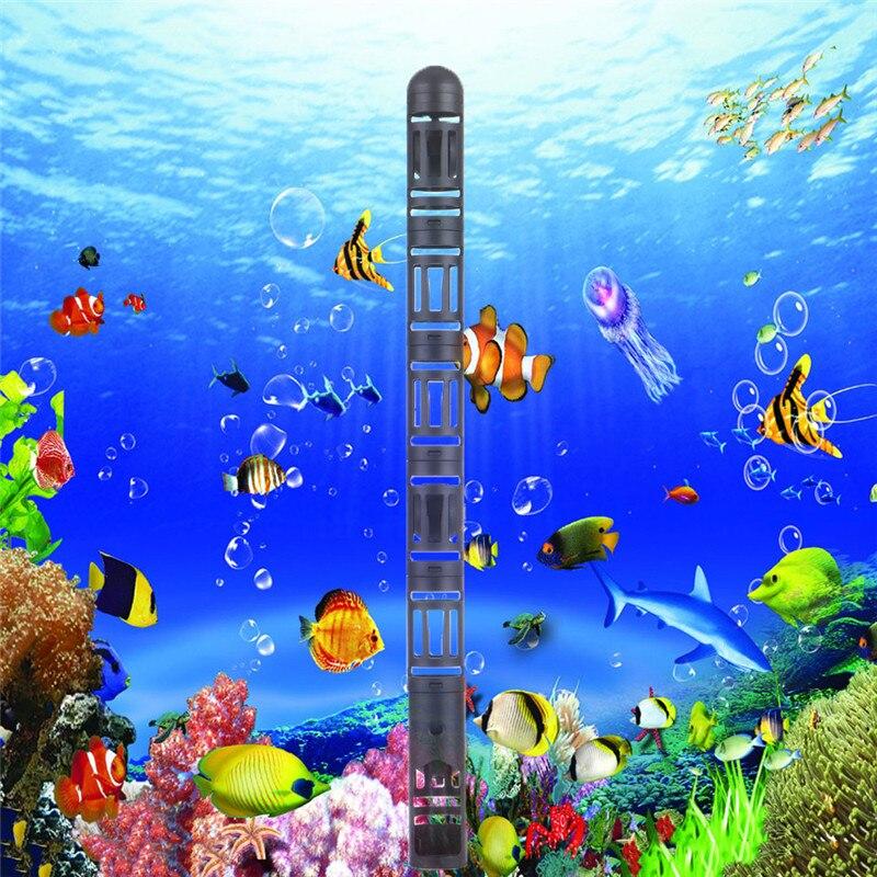 ٩(^‿^)۶1 unids acuario calentador protector cubierta con succión ...