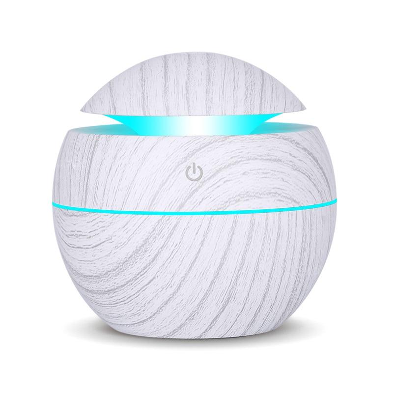 USB 아로마 에센셜 오일 디퓨저 초음파 쿨 안개 가습기 공기 청정기 7 색 변경 사무실 홈에 대 한 LED 밤 빛