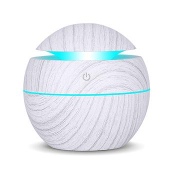 USB zapachowy olejek eteryczny dyfuzor ultradźwiękowy nawilżacz powietrza Cool Mist oczyszczacz powietrza 7 LED zmieniające kolor noc światło dla Office Home tanie i dobre opinie KBAYBO 130ml 36db Mgła absolutorium Aromaterapia Gospodarstw domowych Inne 11-20 ㎡ Sterowanie dotykowe Nawilżania