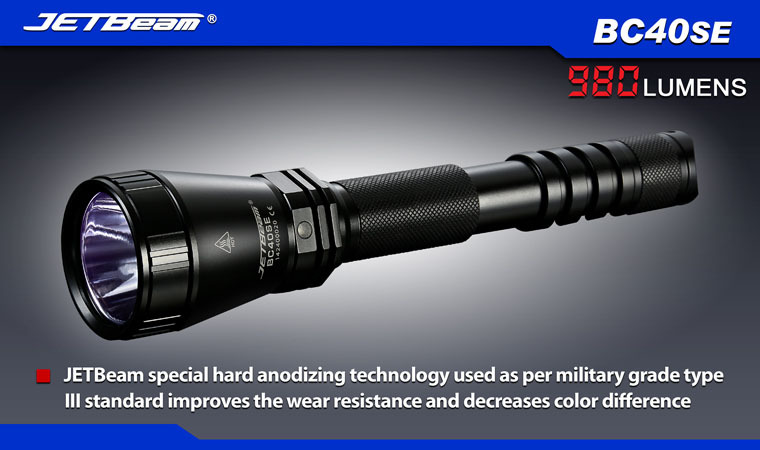 Free Shipping 2014 Original JETBEAM BC40SE Cree XM-L2 LED 980 lumens flashlight daily torch Compatible with 18650 CR123 battery автоинструменты new design autocom cdp 2014 2 3in1 led ds150