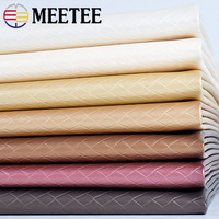 Meetee 100x136cm 0.8mm Thick PU Soft Synthetic Leather Fabric for Bedside Sofa Seat Furniture Decor Material DIY Craft Accessory