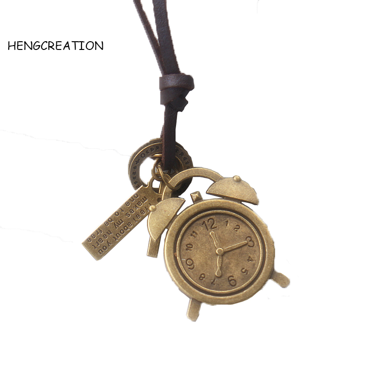 11 Design Boys Necklaces Pendants Pu Leather Punk Vintage Ads