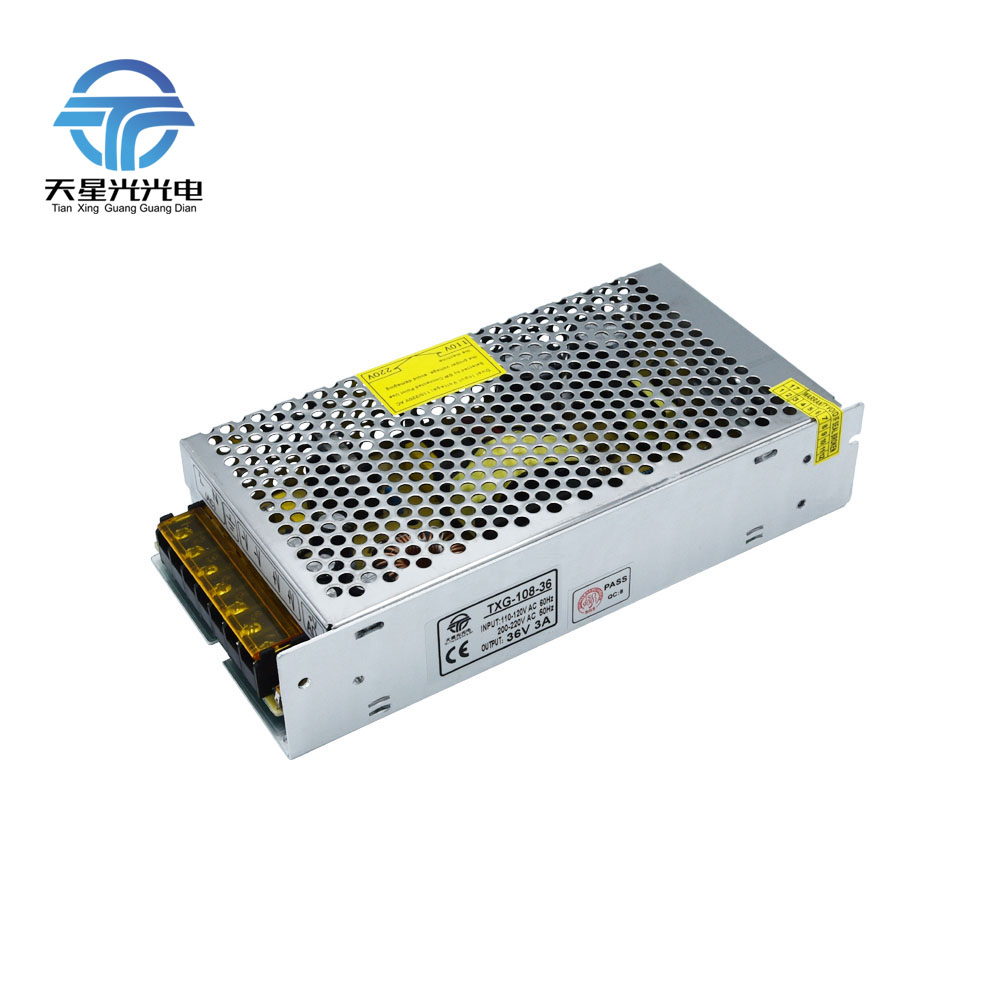Txg Ac110 220v To Dc36v 108w 360w 540w Full Ampire Led Power Supply Circuit Short Overrated Current Protection In Lighting Transformers From Lights