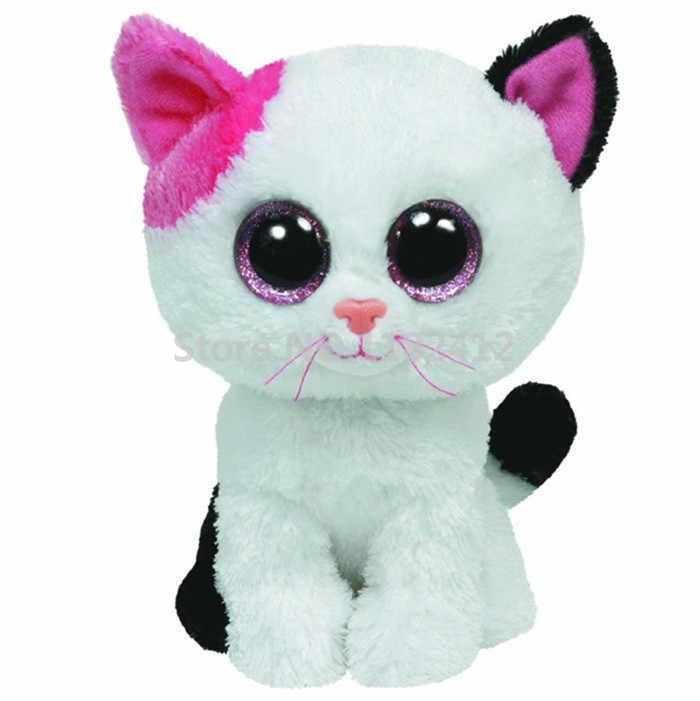 d970b72e332 Ty Beanie Boos Muffin Cat Toy Plush Animals Medium 25cm 10   Tabitha Kiki  Quinn