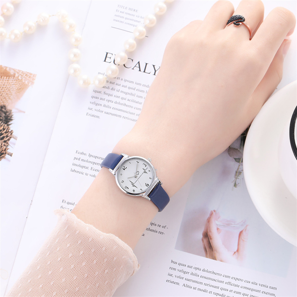 Women's Bracelet Watches Quartz Wrist Watch Exquisite Small Dial  Design Casual Leather Band Ladies Dress Quartz Watches Reloj#W