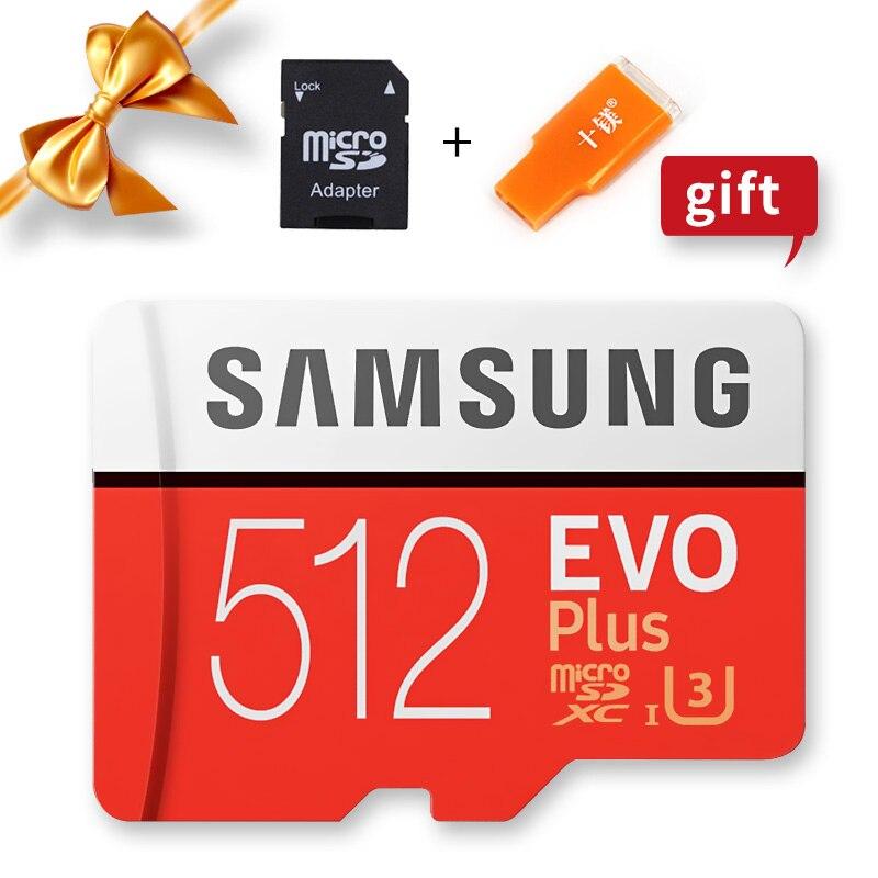 SAMSUNG Microsd Card 256G 128GB 64GB 32GB 16GB 8GB 100Mb/s Class10 U3 U1 SDXC Grade EVO+ Micro SD Card Memory Card TF Flash Card|Memory Cards| |  - title=