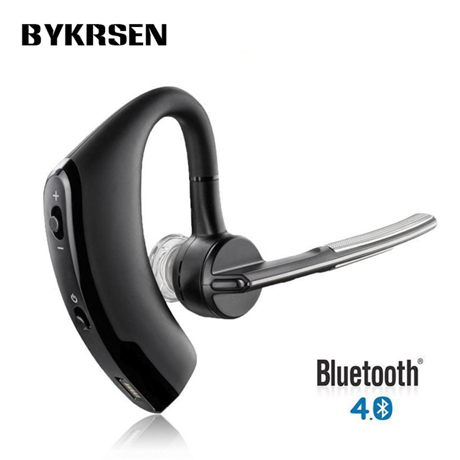 Original Hands Free Wireless Stereo V4.0 Bluetooth Business Headphones Phone Bluetooth Headset Car Driver Handsfree Earphone