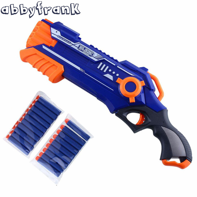 Abbyfrank Plastic Pistol Gun Airsoft Toy Gun Sniper Rifle Arme Orbeez Arma Blaster With 12 Dart For Children Gift With Dart Mega