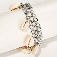 Винтажные богемные браслеты komi из натуральной ракушки пляжные