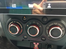 Car AC Knob Air Conditioning heat control Switch knob Aluminum alloy For Suzuki Swift SX4  YCQT34