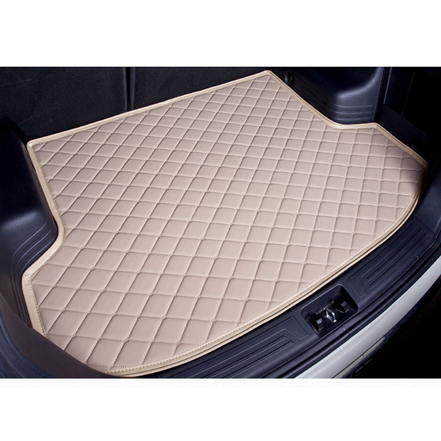 custom car trunk mat for Suzuki All Models Jimny Grand Vitara Kizashi Swift SX4 Wagon R Palette accessories styling trunk pad