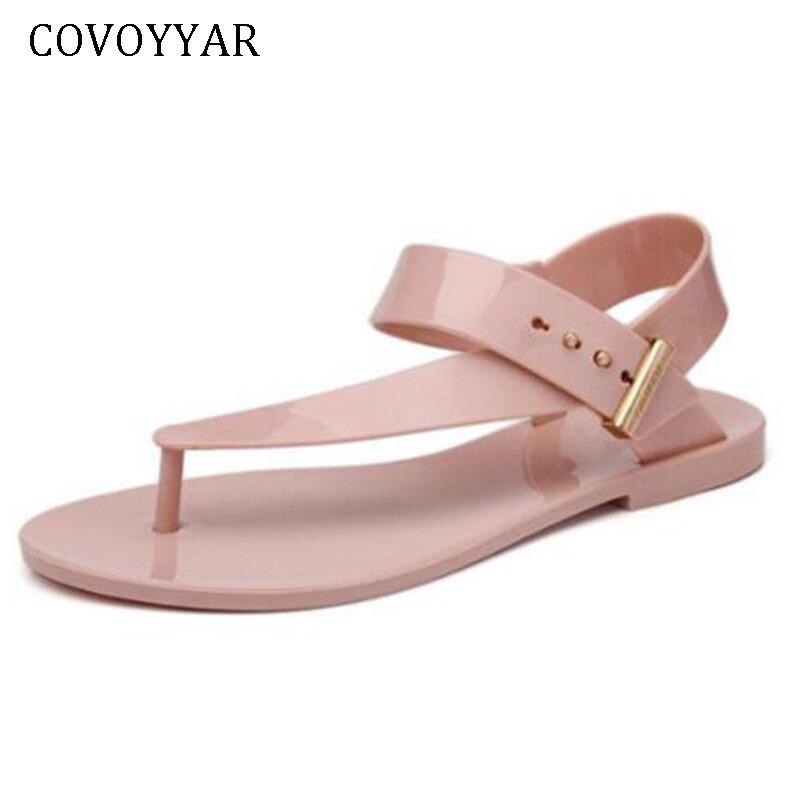 Sandales Slingback Mode Glissement Out Chaussures Plage blanc Covoyyar 2019  rose Sur D été Plat Flip Femmes Wss317 Bohême ... c9d1d161d59