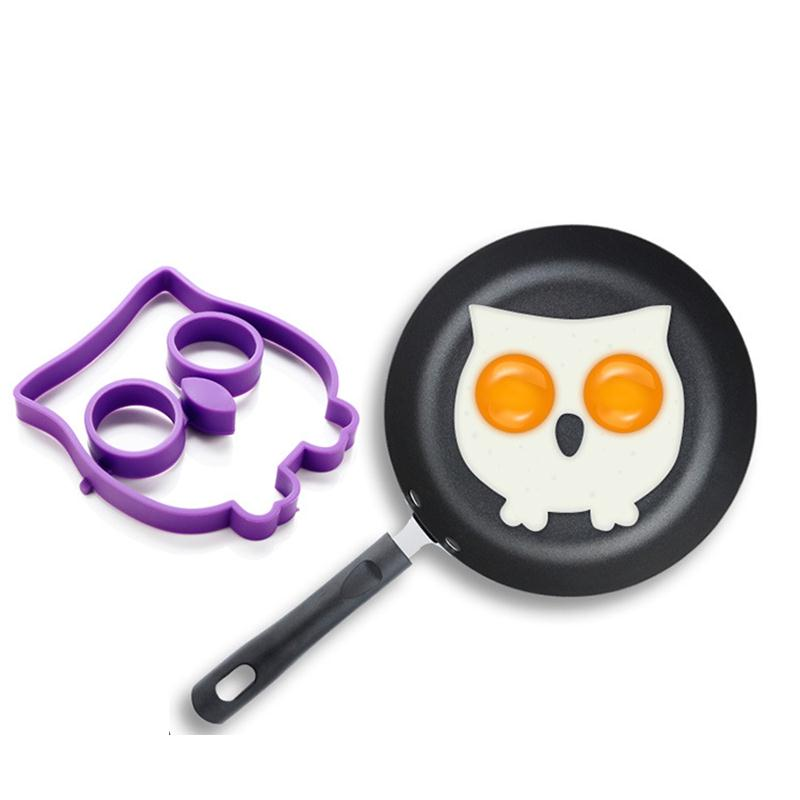 Fine Creative Kitchen Egg Tools Stainless Steel Fried Egg Mold Shaper Cute Pancake Mould Heart Mold Modern And Elegant In Fashion Egg Tools Kitchen,dining & Bar