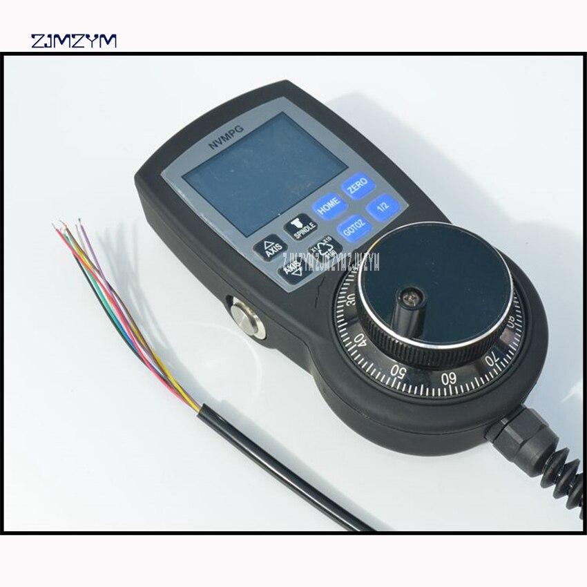 CNC маховик Mach3 MPG ручной импульсный генератор ручное колесо полнофункциональная серийная связь с координатным дисплеем - 3