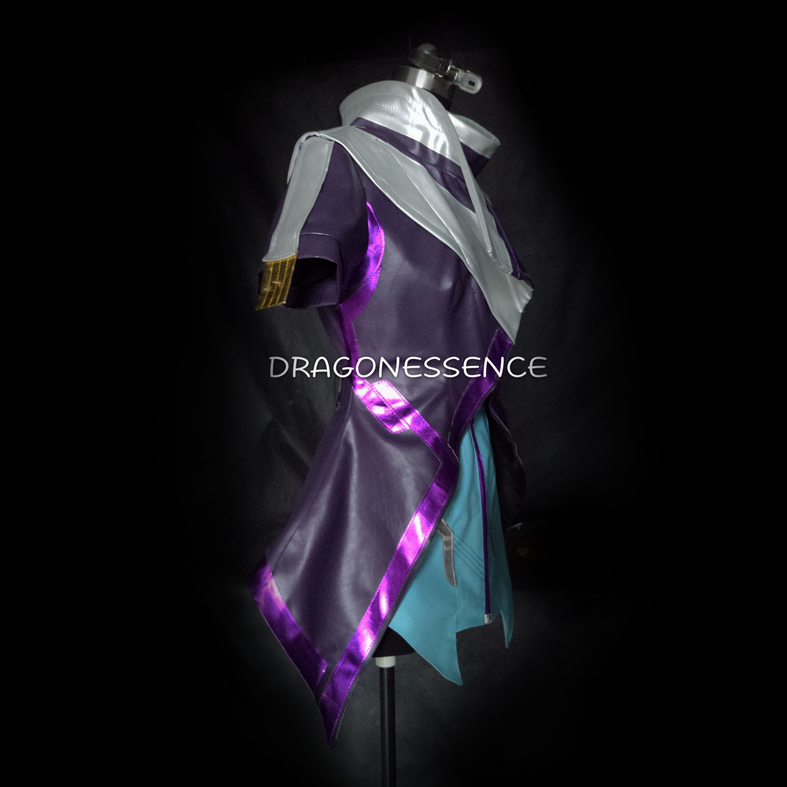 Game sombra black shadow cosplay costume cosumsized  custome made 1