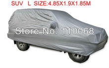SUV L size universal Car covers for Mitsubishi HYUNDAI Hover Jeep Lexus Nissan Outlander Volkswagen resist snow car cover