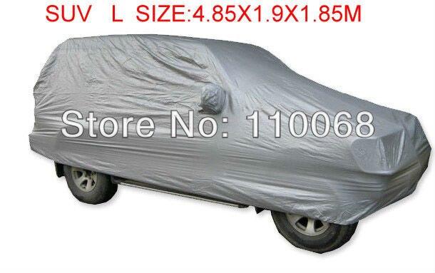 Prix pour SUV L taille De Voiture universel couvre pour Mitsubishi HYUNDAI Hover Jeep Lexus Nissan Outlander Volkswagen resist neige couverture de voiture