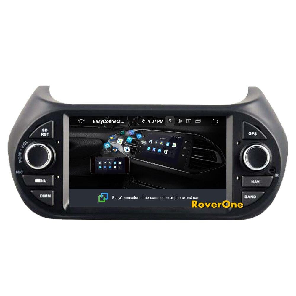 Cheap RoverOne Car Multimedia Player For Fiat Fiorino Qubo For Citroen Nemo For Peugeot Bipper Android 9.0 Octa Core Radio Navigation 8