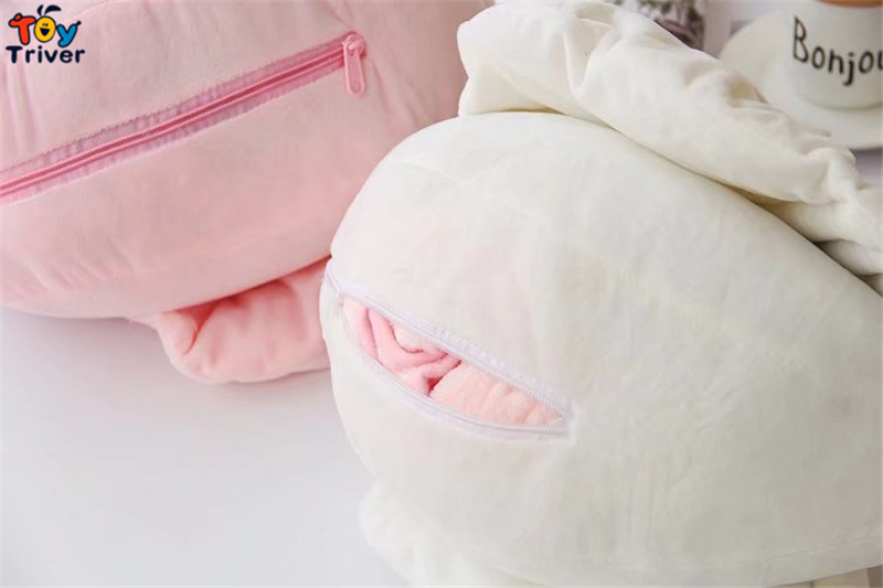 148cm Plush Swan Portable Blanket Stuffed Toy Doll Baby Shower Car Air Condition Travel Rug Office Nap Carpet Birthday Gift in Stuffed Plush Animals from Toys Hobbies