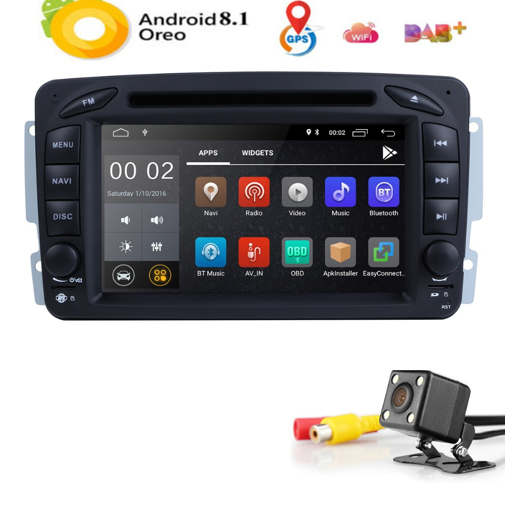 2din 7 android car dvd player for mercedes benz w209 w203 w168 ml w163 w463 viano w639 vito. Black Bedroom Furniture Sets. Home Design Ideas