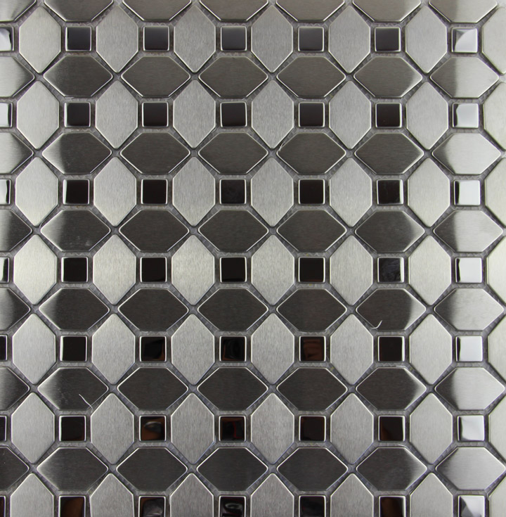 Decorative Metal Wall Tiles.Us 195 7 Hexagon Stainless Steel Metal Mosaic Tile Kitchen Backsplash Bathroom Shower Wallpaper Background Decorative Fireplace Wall Tile In
