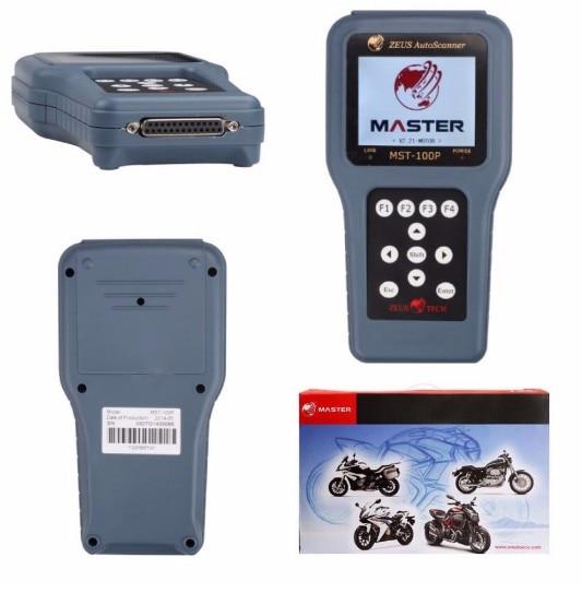 Motor Bike Diagnostic Scanner Tool MST-100P New Universal Motorcycle Diagnostic Scanner Handheld MST100P 11 In 1 Tester