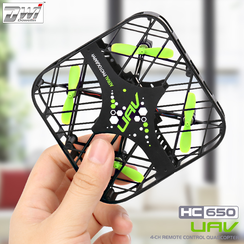 RC Quadcopter Mini Drone Nano Drones Pocket Drone Small Dron Remote Control Helicopter Shatter Resistant Shock Proof HC650