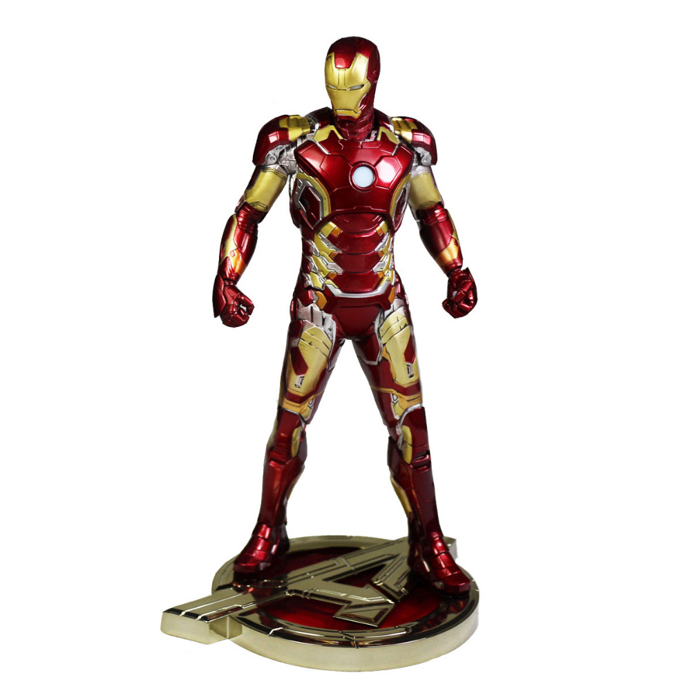 ФОТО Ironman Marvel Avengers Age of Ultron Iron Man Mark XLIII MK43 Anime Action Figure Model Toy DC012086