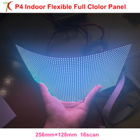 P4 flexible soft full color led panel use for column led screen dot matrix rgb module smd video display