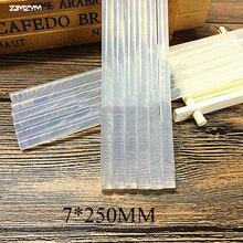 1 шт. 7 мм горячий расплав клей палка для тепла клей пистолет высокая вязкость 7x250 мм клей клей палка ремонт инструмент комплект DIY рука инструмент