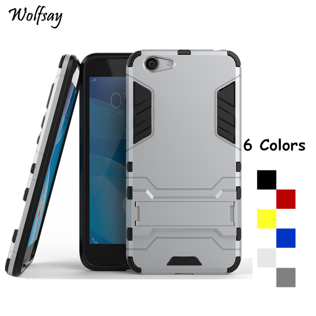 the latest 3fbcd c1307 US $2.68 37% OFF|Wolfsay For Cover BBK Vivo Y53 Case Shockproof Robot Armor  Phone Case For BBK Vivo Y53 Silicone Phone Cover For Vivo Y53 5 inch-in ...