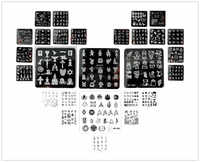 New Arrives cartoon SP design nail art image plate Equipment Stamp Stamping Plates ManicureTemplate
