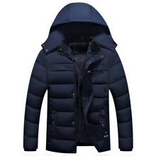 Men winter jacket and coat New 2017 Brand Clothing Winter Jacket Men Casual Parka long winter down Fashion overcoats Hommer men