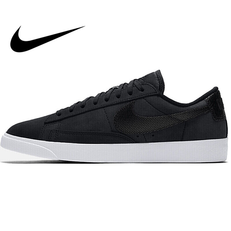 reputable site d40c0 1c541 Original 2018 NIKE BLAZER LOW LX Women s Skateboarding Shoes Lace up Hard  wearing Daily Casual Comfortable Low Cut Shoes AA2017-in Skateboarding from  Sports ...