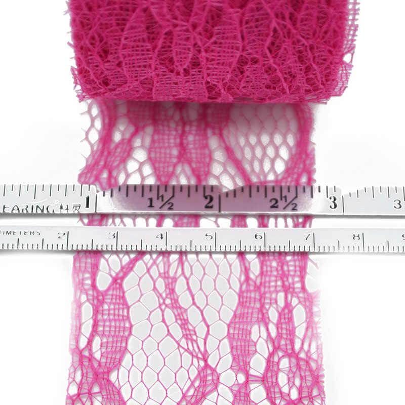 10 ярд 5 см один тюль рулон ткань юбка-пачка катушка рулон кружева сетка стул створки лук настольная дорожка Свадебные украшения