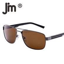 JM Wholesale 10pcs/Lot Polarized Driving Sunglasses Metal Frame Square Lens Sun Glasses Men Women Outdoor Fishing Eyewear