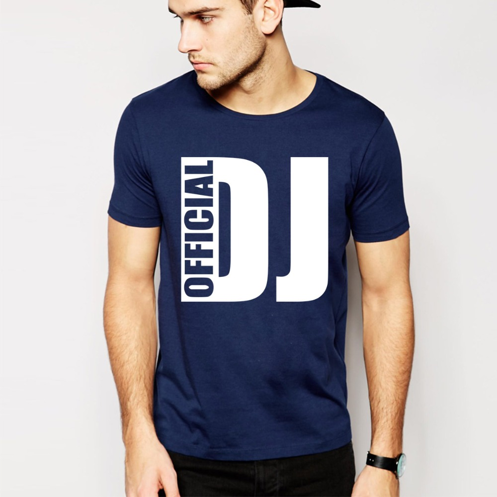 official dj t shirts men short sleeve man t shirt cotton o. Black Bedroom Furniture Sets. Home Design Ideas
