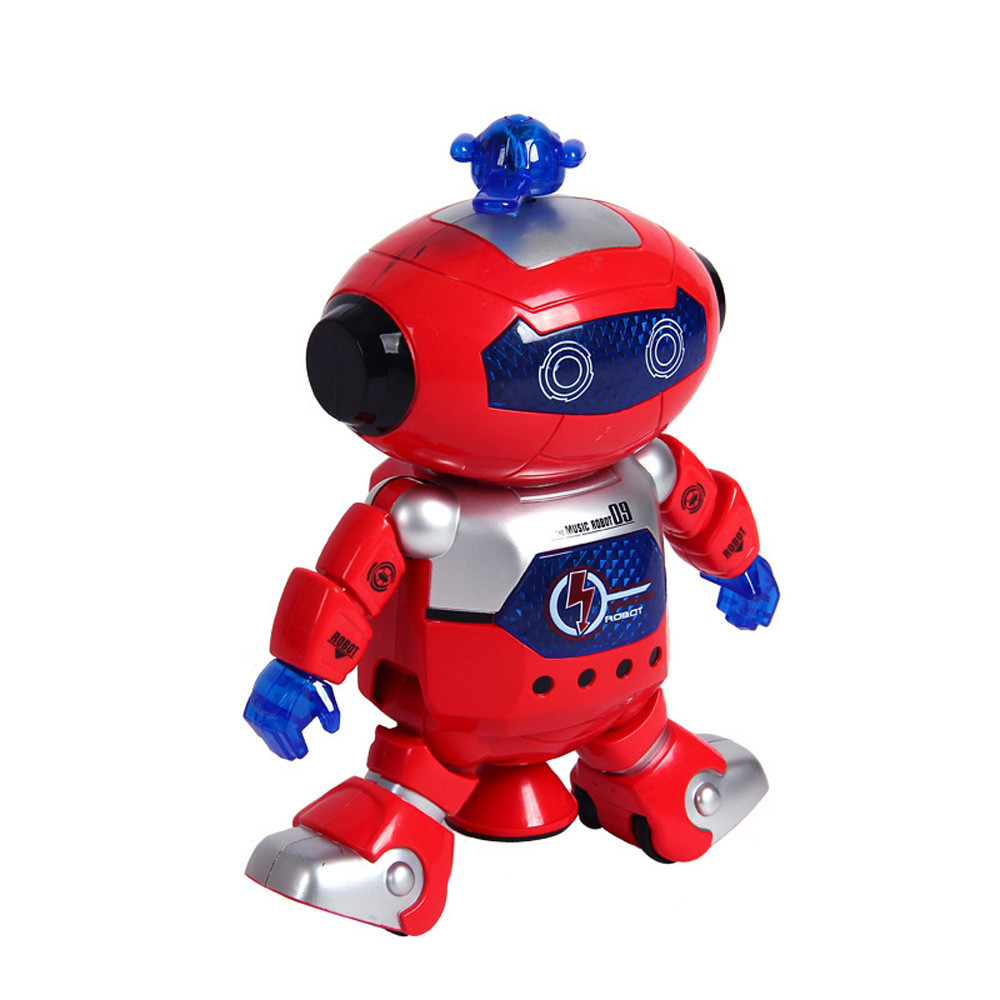 Sozzy 2018 Electronic Walking Dancing Smart Space Robot Astronaut Kids Music Light Toys